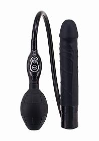 Inflatable Vibrator - Black