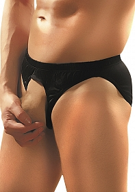 Pouchless Brief - Black