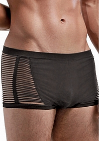 Seamless Open Blind Short - Black - One Size