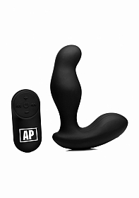 7X P-Gyro Prostate Stimulator w/ Rotating Shaft - Black