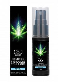 CBD Cannabis Pheromone Stimulator For Him - 15ml