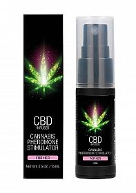 CBD Cannabis Pheromone Stimulator For Her - 15ml
