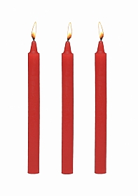 Fire Sticks - Fetish Drip Candles Set of 3 - Red