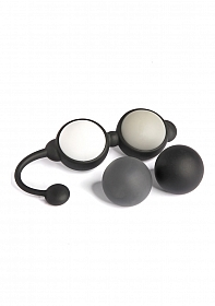 Beyond Aroused Kegal Balls Set - Black