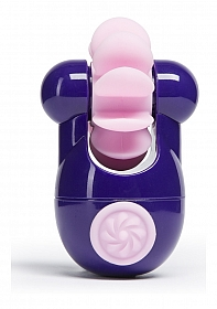 Sqweel Go Rechargeable Oral Sex Simulator - Purple