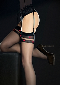 ETERNAL Stockings 20 den - Black
